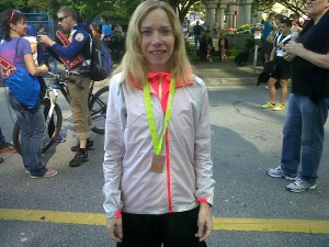 I age group medalled in the BMO 8km race